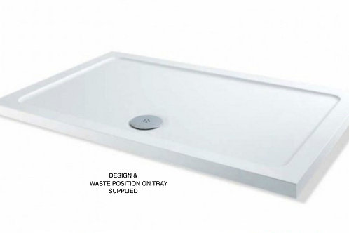 MX 1650 length Anti-Slip Stone Resin Shower Tray