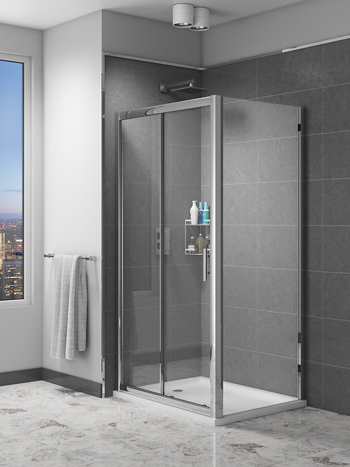 Cassix Single Sliding Shower Enclosures