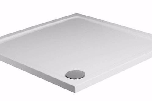 KVit  Square Stone Resin Low Profile Shower Tray