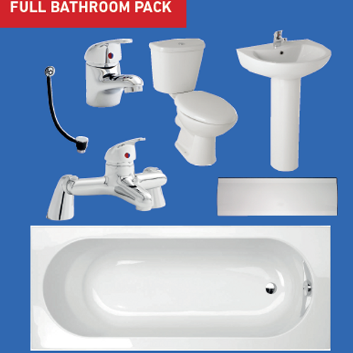 Basic Bathroom Package - Complete Special Offer