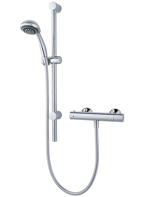 Atmos Sigma Thermostatic Bar Mixer with Riser Rail HMM