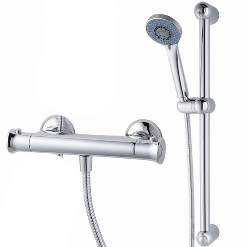 Thermostatic Bar Mixer Valve with Riser Rail