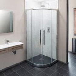 Caliza Quadrant Enclosure with Easy Clean 8mm Glass