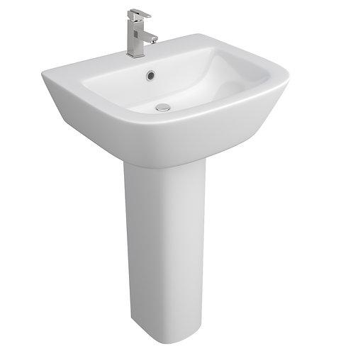 Ceramic Basin & Full Pedestal