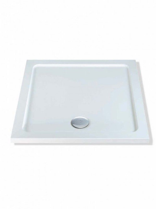 Stone Resin Low Profile Shower Tray Square Range
