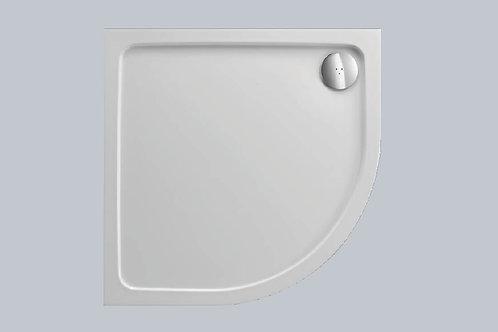 KVit  Quadrant Stone Resin Low Profile Shower Tray