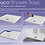 Thumbnail: MX Ducco Stone Drying Area Low Profile Shower Tray Rectangle