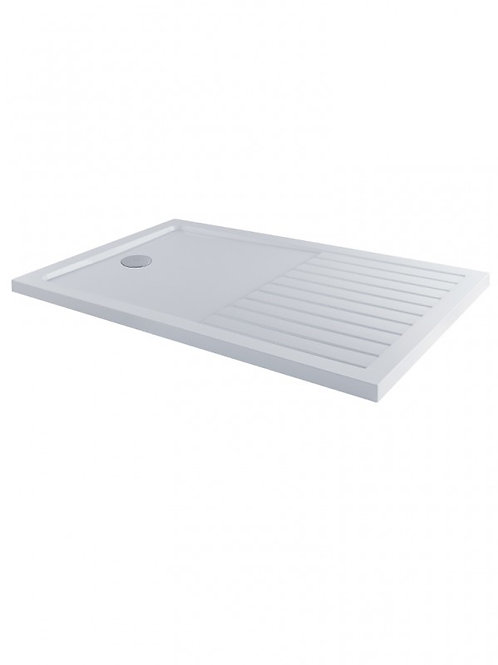 MX Ducco Stone Drying Area Low Profile Shower Tray Rectangle