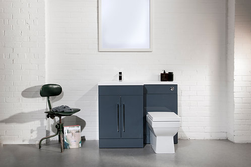 L-Shaded Basin Vanity WC Bathrooms Furniture
