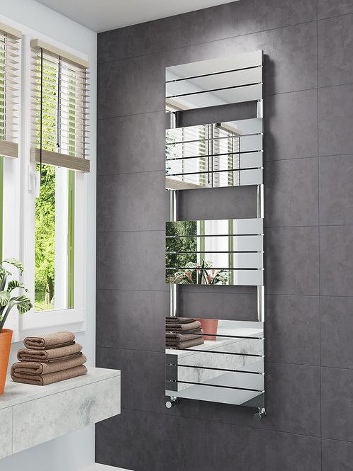 Designer Mirror effect Flat profile Towel Radiator  - SWIFT