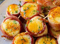 Scallops Wrapped in Bacon (dozen)