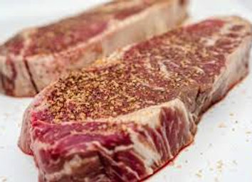 Dry Aged NY Sirloin Steaks (4 pack)