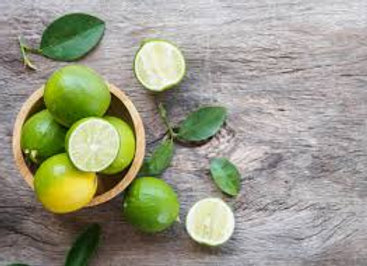 Limes (whole fruit)
