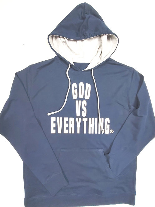 GVE French Terry Hoodie - Navy