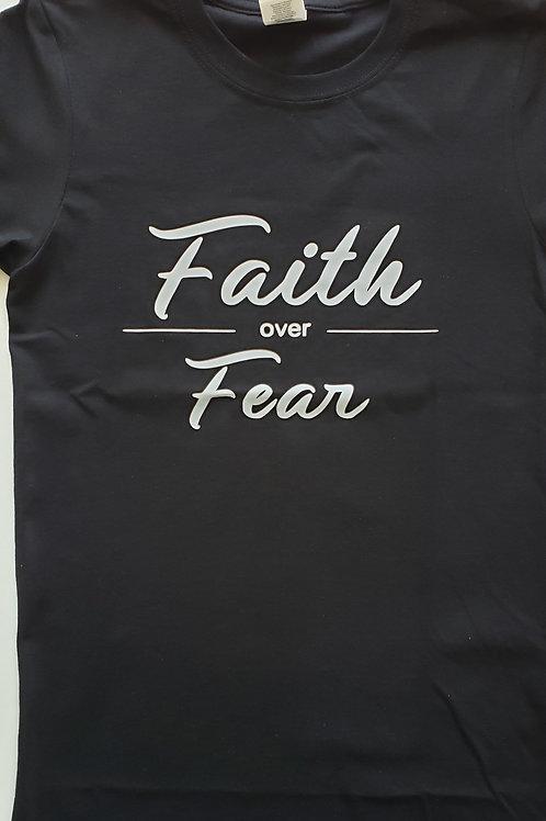 Faith Over Fear Women's Tee