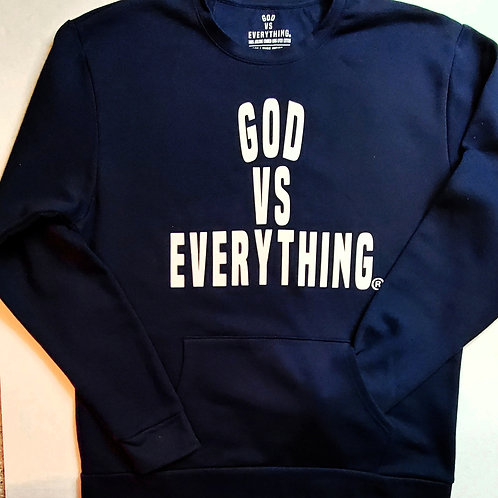 GVE Pocket Sweatshirt - Navy