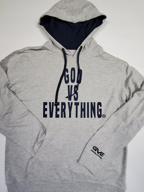 GVE French Terry Hoodie - Lt. Grey