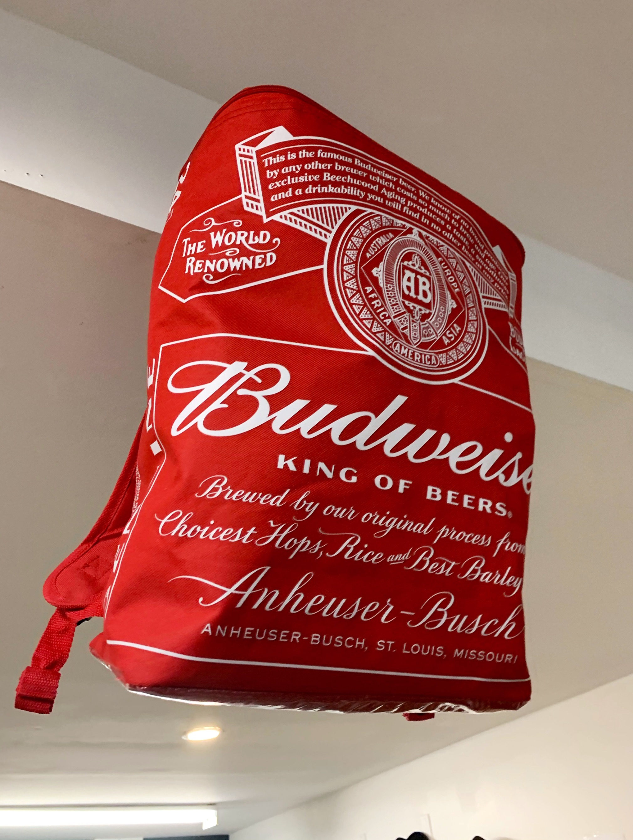 Budweiser Backpack Cooler
