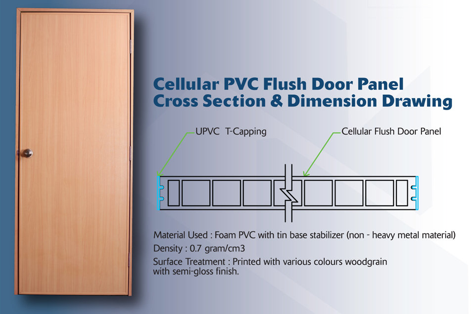 Cellular_FlushDoorPanel_CrossSection_Dim