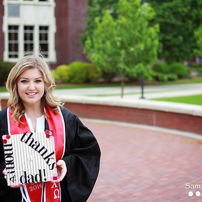 Hannah & Molly BSU Graduation 2016
