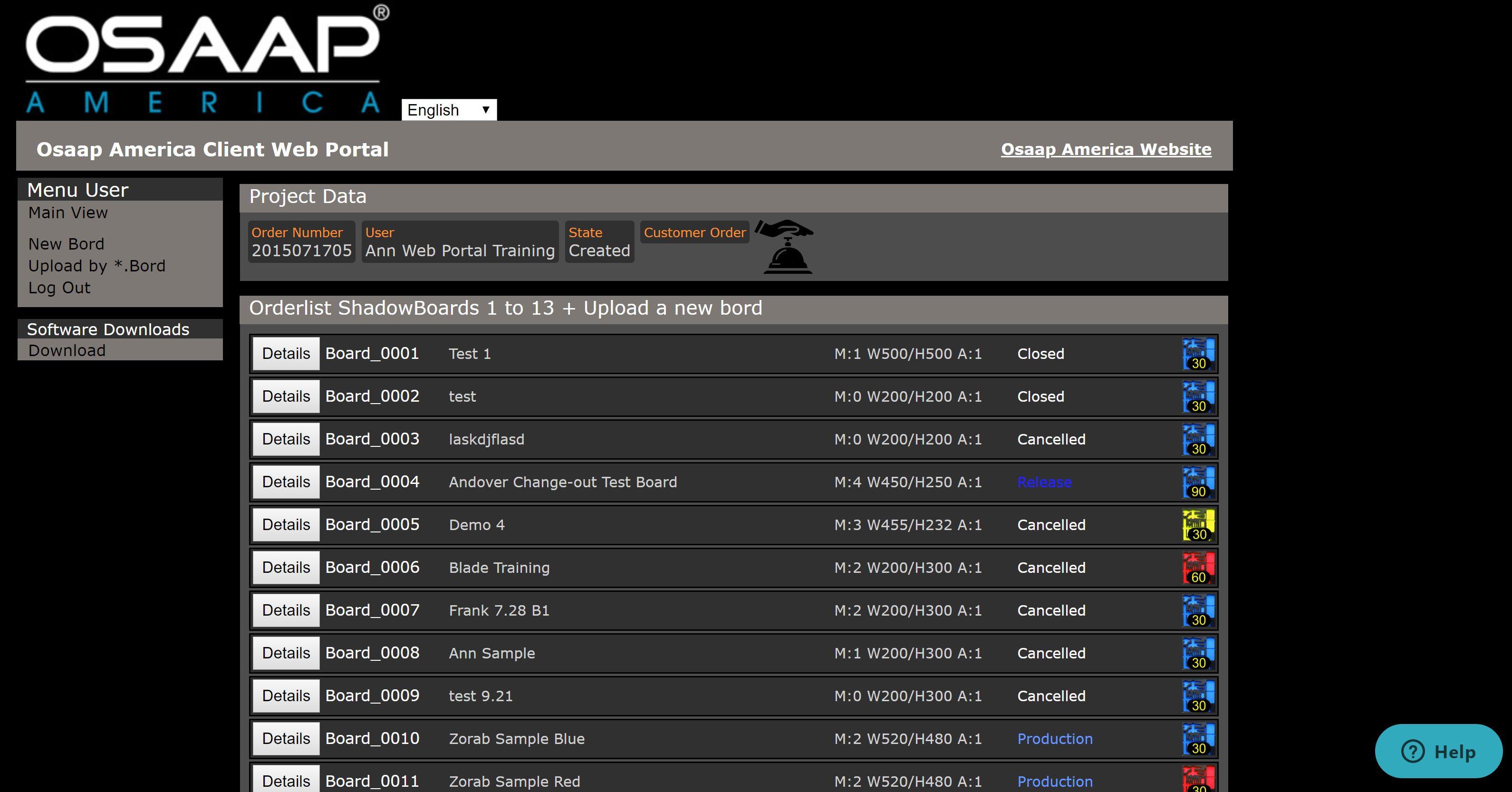 OSAAP Web Portal Training