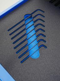 Blue Foam Shadow Board