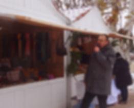 Animation micro marché de noël
