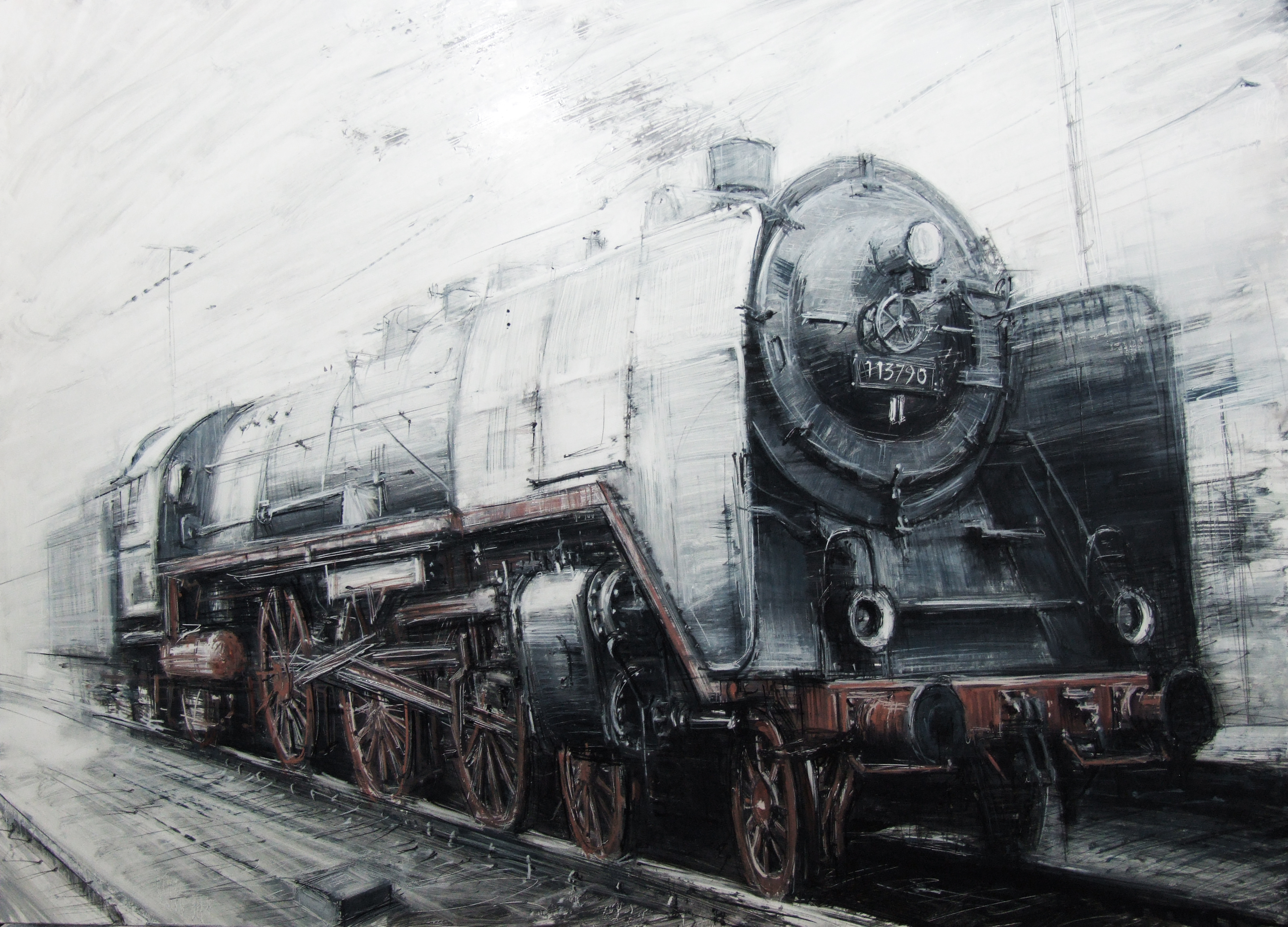Locomotive (Study)