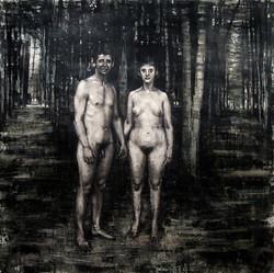 Naked (Homage to Diane Arbus)
