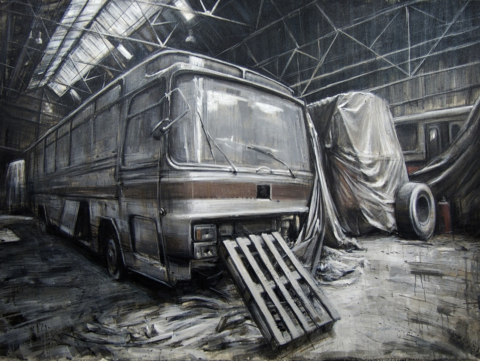 Abandoned Buses