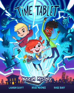 Time Tablet Cover