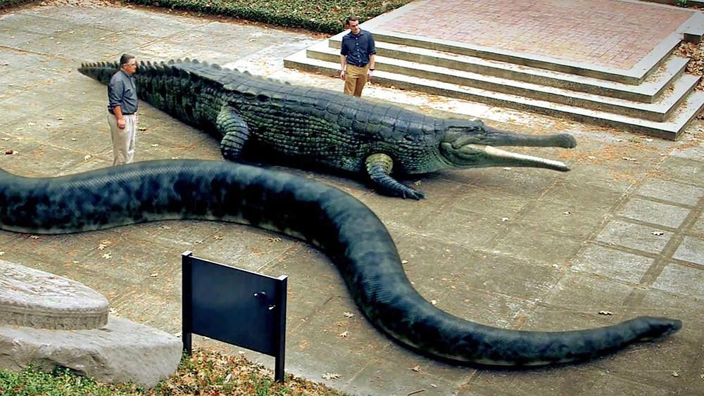 Megabeasts Snake and Croc