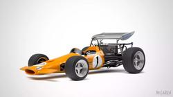 Tooned Formula 1 Car