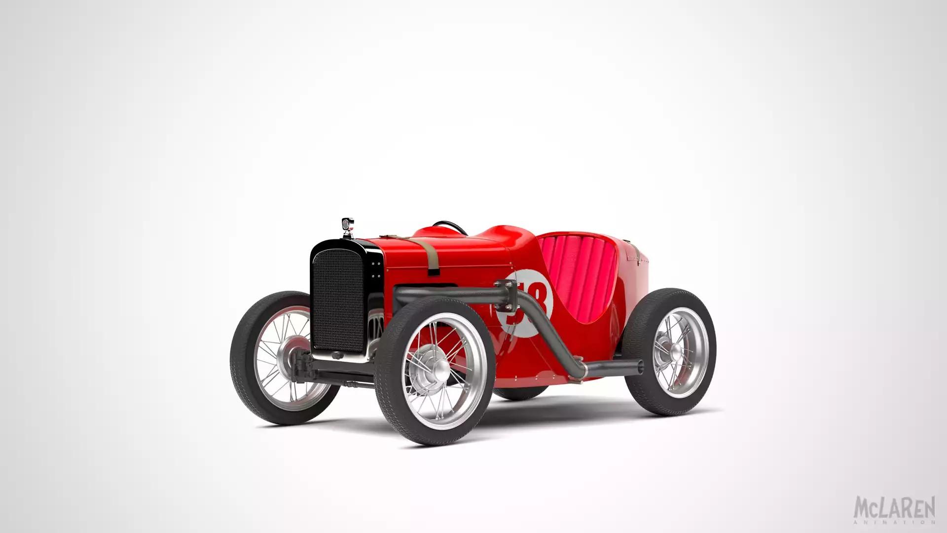 Tooned McLaren Car