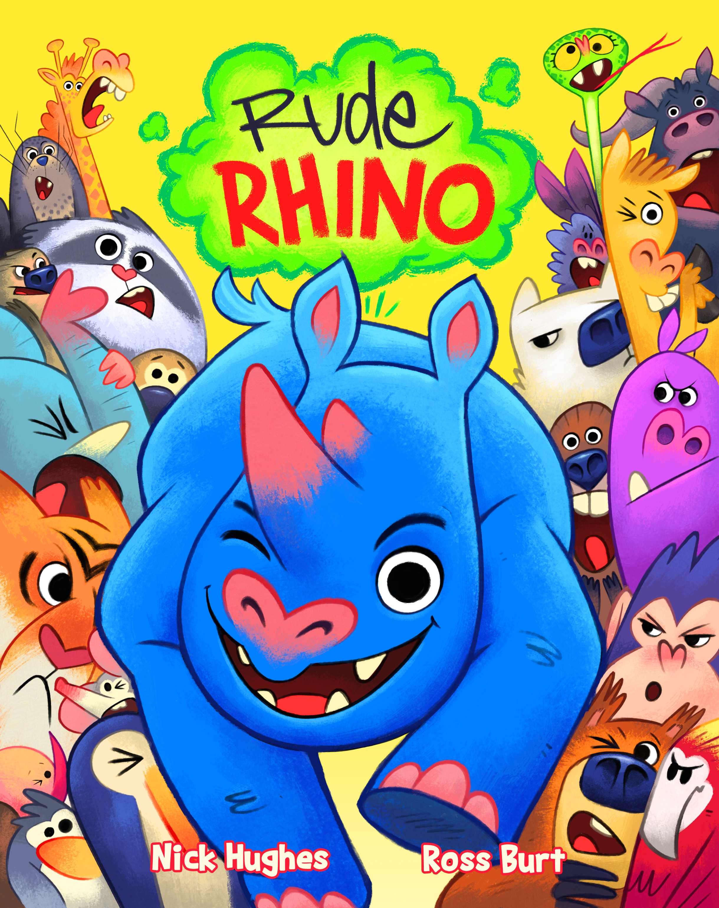 Rude Rhino Cover