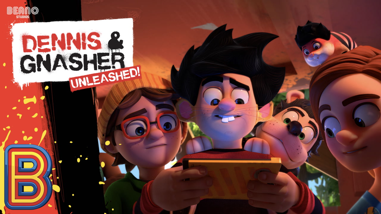 Dennis and Gnasher Poster