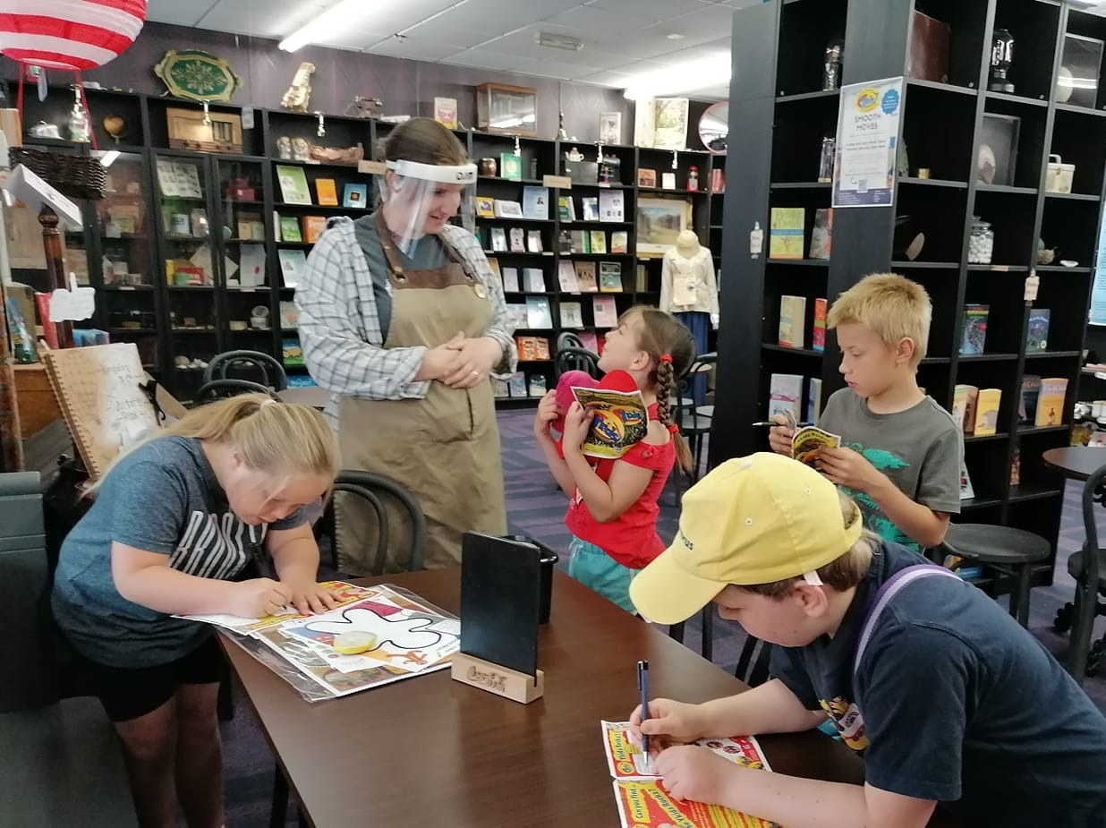 Story Keeper with Children at Kingsley&C