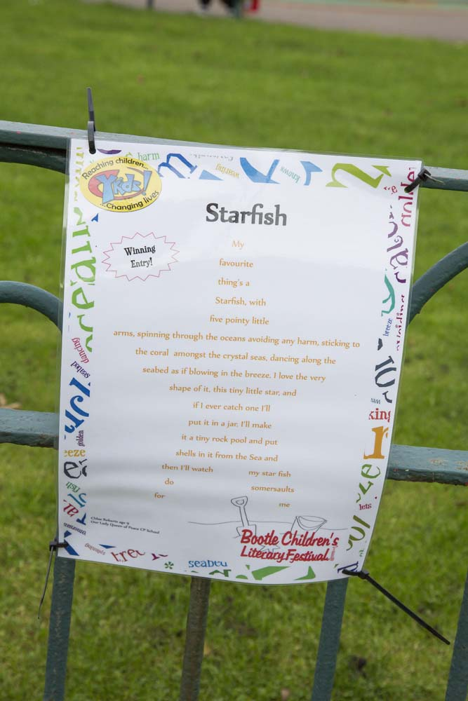 The Winning Poem, Starfish