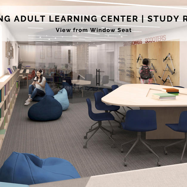 Young Adult Learning Center   Study Room