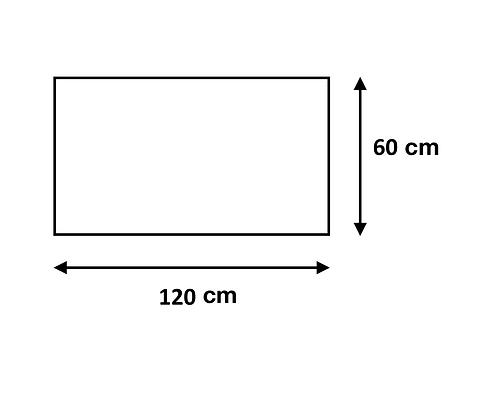 Cuadro de 60 x 120 cm