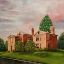 Sunset. Holt House