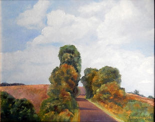 Barbara Brennan - Country Road Westmoreland County- Large Image.jpg