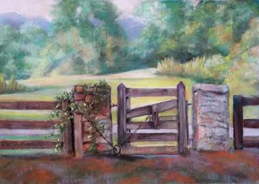 Nimrod Hall Gate