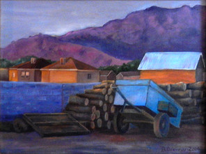 Blue Cart, New Mexico