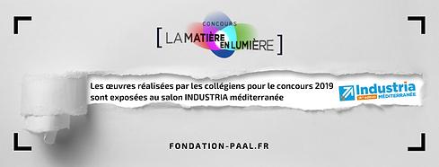 expo INDUSTRIA Fondation d'entreprise PA