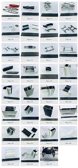 Cliquez pour voir tout le kit aluminium