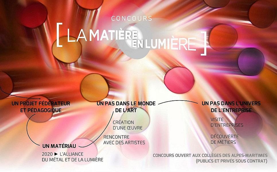 Concours La Matière en Lumière 2020 - Fo