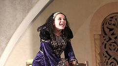 Cassandra Dupler performed the role of Katherine in The Taming of the Shrew at Arena Players Repertory Theatre.