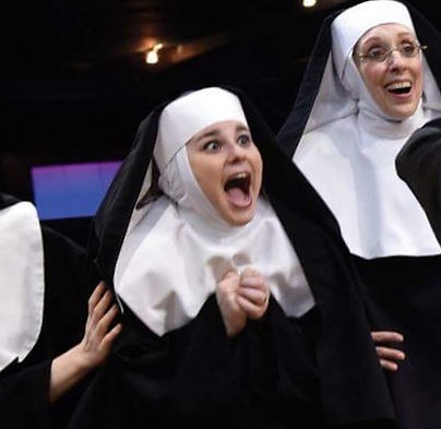 Cassandra Dupler appeared as Sister Mary Patrick in Sister Act at The Fireside Theatre