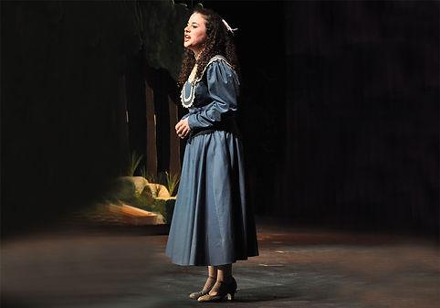 """Cassandra Dupler as """"Carrie Pipperidge"""" in Carousel"""